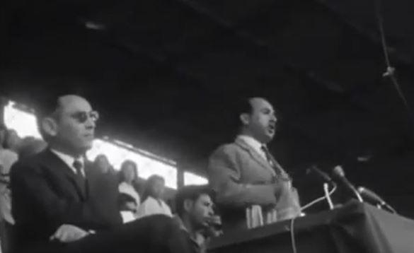 1962 les deux presidents reunis