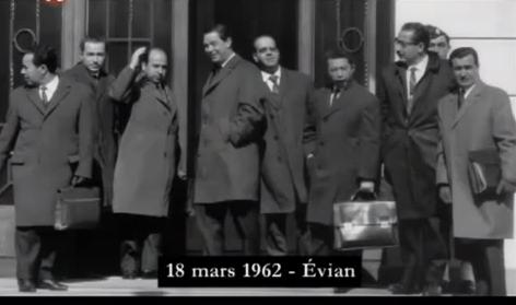 Evian 18 mars 1962