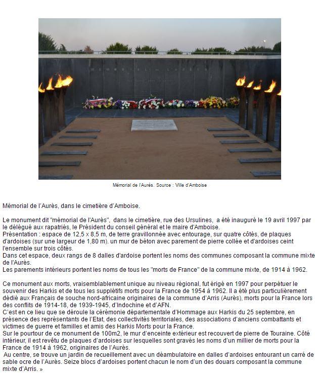 Memorial amboise