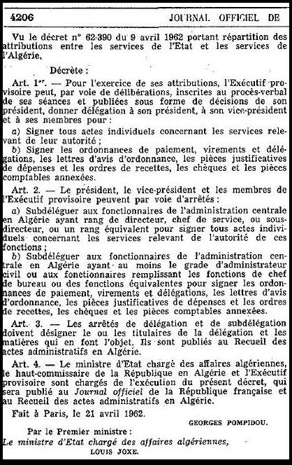 Pompidou 21 avril 1963