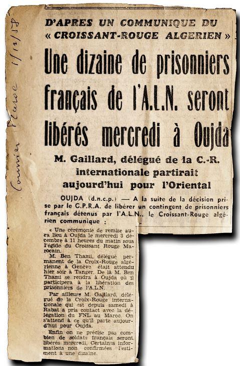 Prisonniers de oujda